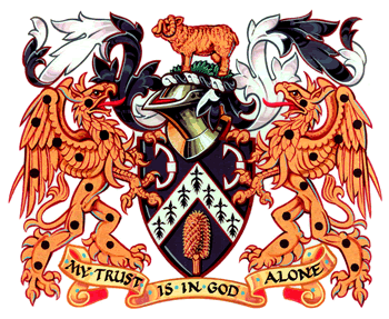 Clothworkers' Company coat of arms